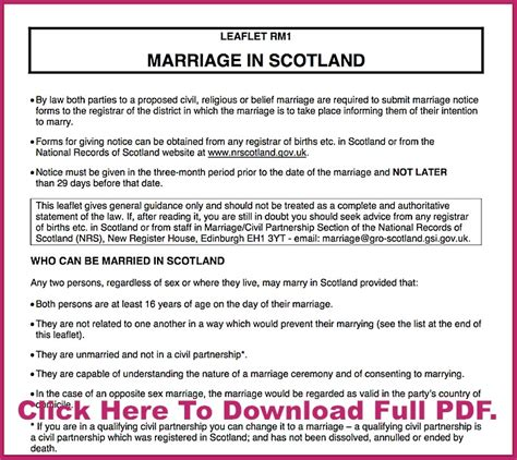 Wedding Ceremony Requirements by Requirements Scottish Highland Weddings