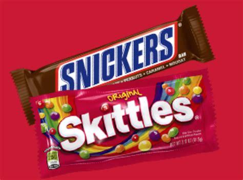 Freebieshark Instant Win - snickers skittles instant win game 25 352 winners