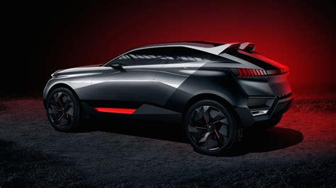 peugeot suv concept peugeot quartz concept could hint at new french suv