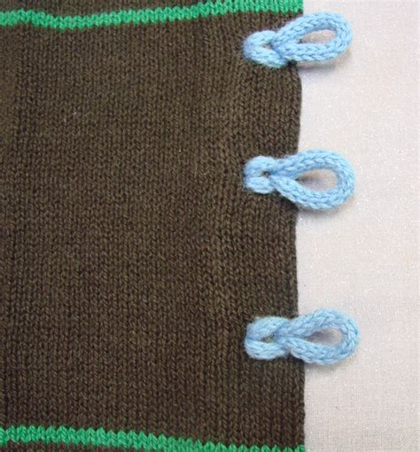 knitting loop loop closures done on the passap cckittenknits s weblog