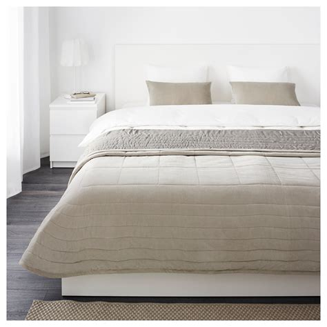 Bettdecke 240 X 220 by Penningblad Bedspread And 2 Cushion Covers Grey 260x280