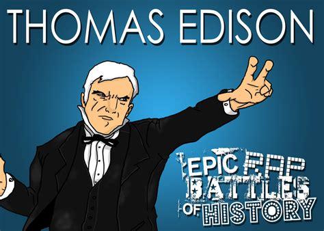 Epic Rap Battles Of History Edison Vs Tesla Epic Rap Battles Of History Edison By Twinsvega On