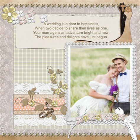 Wedding Scrapbook Templates wedding scrapbook templates wedding scrapbook designs