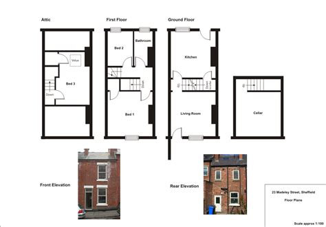 uk home layout design plan domestic architecture 1700 to 1960