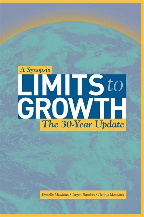 limits to growth the 30 year update limits to growth 30 years update