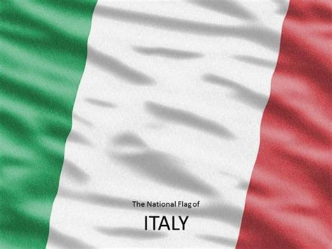Italian Flag Template Italian Powerpoint Template