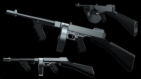 How To Make A Paper Smg - how to make a thompson smg pt1 of 4 versi on the spot
