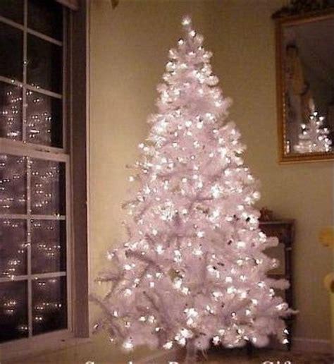 fake christmas trees buy white pre lit artificial