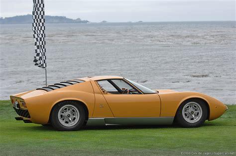 1966 Lamborghini Miura 1966 Lamborghini Miura P400 Prototipo Gallery Gallery