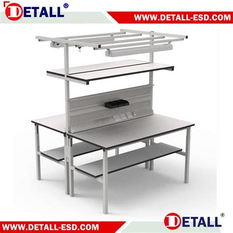 esd work benches double esd workbench detall esd
