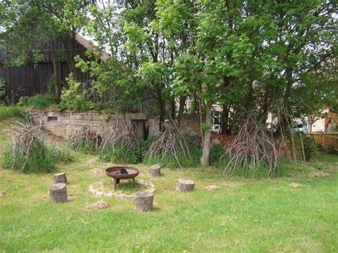 feuerstellen sachsen ferienwohnung zur napoleonschanze in hohnstein