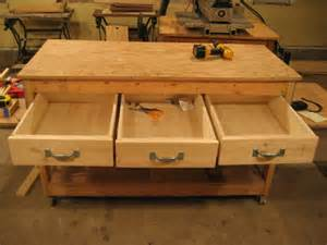 Ideas For Workbench With Drawers Design Here Workbench Plans With Drawers Free Woodworking Plans
