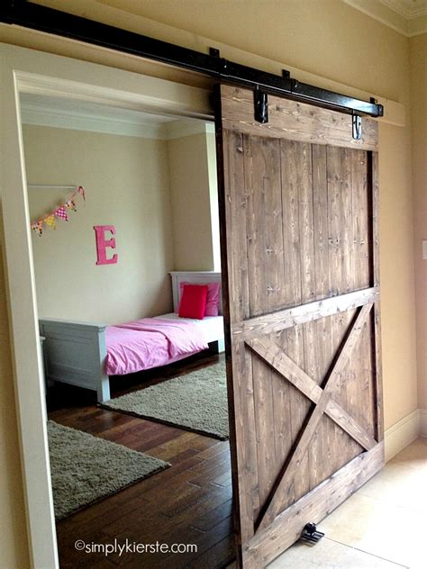Installing Barn Doors Installing A Sliding Barn Door How Easy Is It Simplykierste
