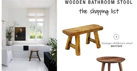 Small Wooden Stool For Bathroom by 10 Best Wooden Bathroom Stools Paradissi