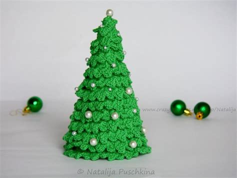 easy crochet pattern vor christmas tree