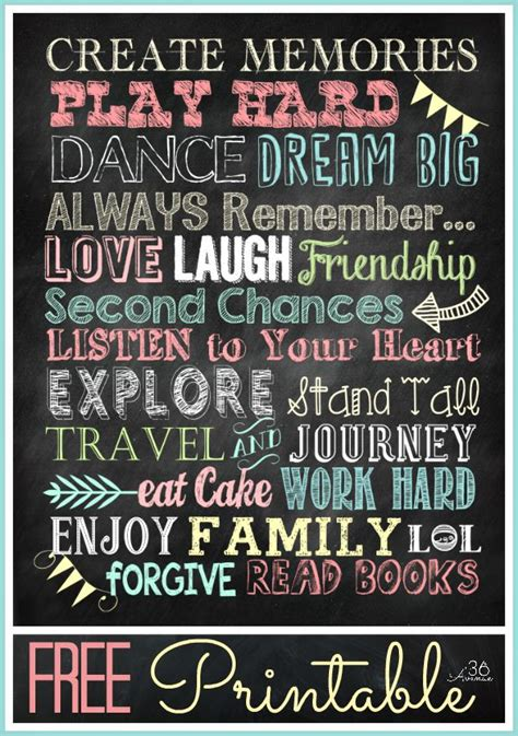 printable fonts for posters chalkboard fonts and free printable typography