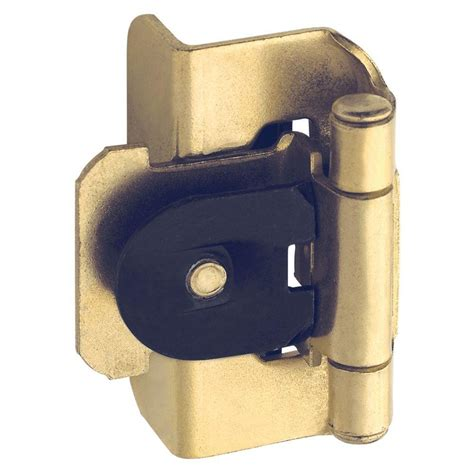 double demountable cabinet hinges 1 2 in polished brass double demountable inset