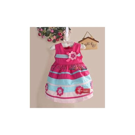 Dress Bunga Rempel Pita Depan 1 dress pink bunga pita