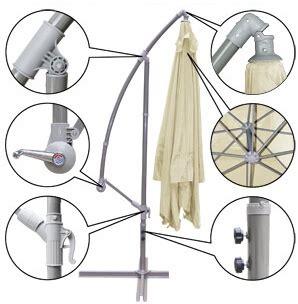 Cantilever Umbrella Parts Diagram brand new 9 outdoor cantilever umbrella mosquito net