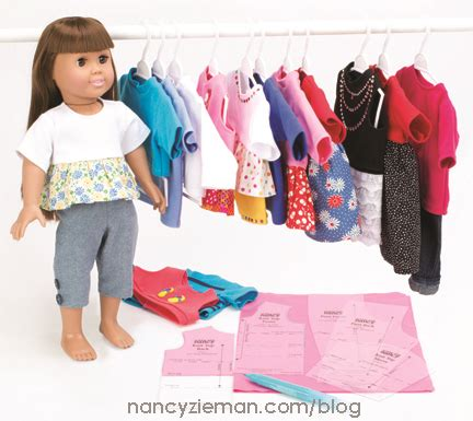 fashion doll sewing notions hello dolly design and sew 18 quot doll clothes with help