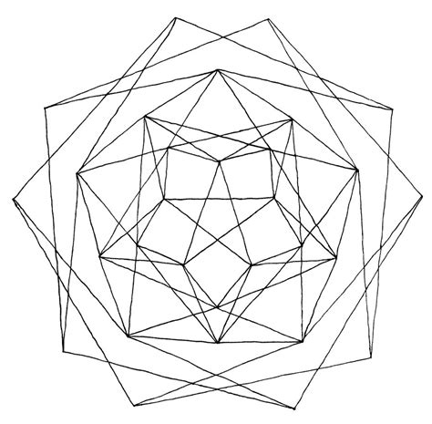 Geometric Drawings To Color Free Printable Geometric Coloring Pages For Adults