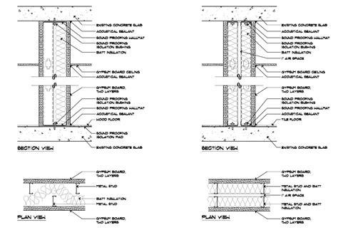 sound insulation gypsum board walls sound insulation walls photos wall and door