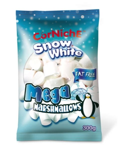 Baru Corniche Mega Assorted Marshmallow 300g ace synergy international snow white mega marshmallows