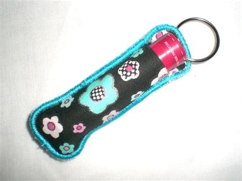 embroidery pattern holder fabric chapstick holder machine embroidery design