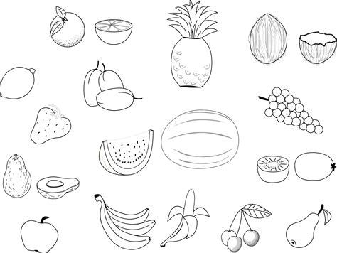 coloriage fruits 224 imprimer