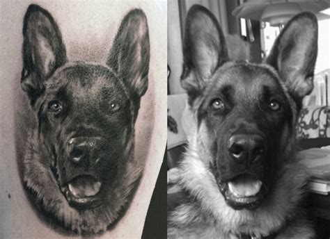 german shepherd tattoo tattoos and designs page 90