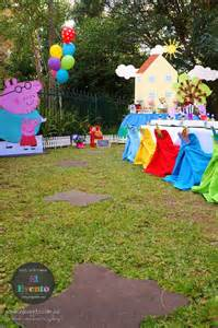 Peppa pig third birthday party