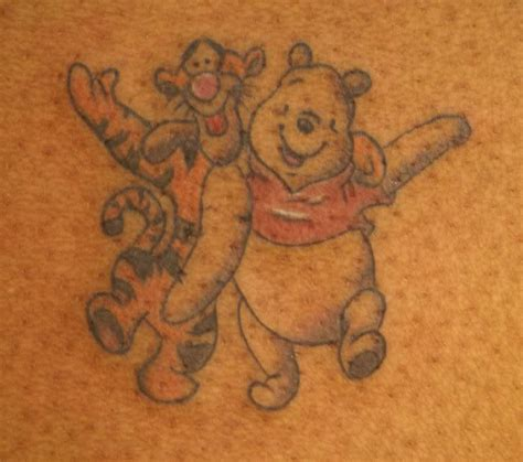 tigger tattoo tigger and pooh tattoos