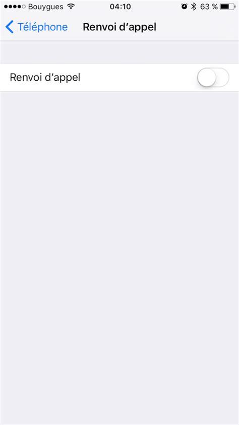 Comment faire un renvoi d'appel avec un iPhone ? - Varcap
