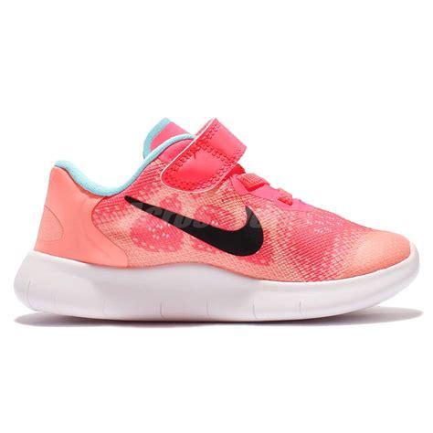 baby running shoes nike free rn 2017 tdv run racer pink toddler baby running