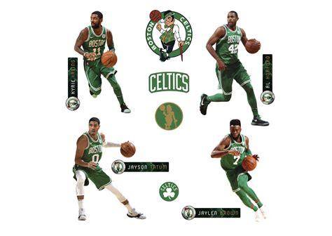 Kaos Nba 2017 2018 Boston Celtics size boston celtics power pack fathead wall decal shop boston celtics fathead decor