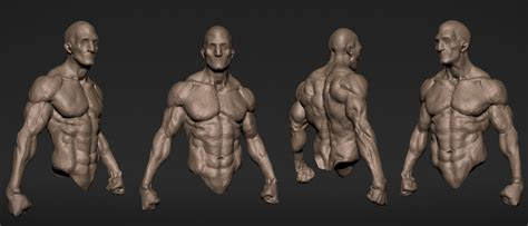 zbrush tutorial body artstation speed sculpt and warrior from a sphere wip
