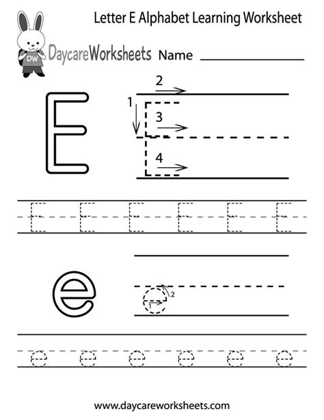 25 best ideas about letter e worksheets on