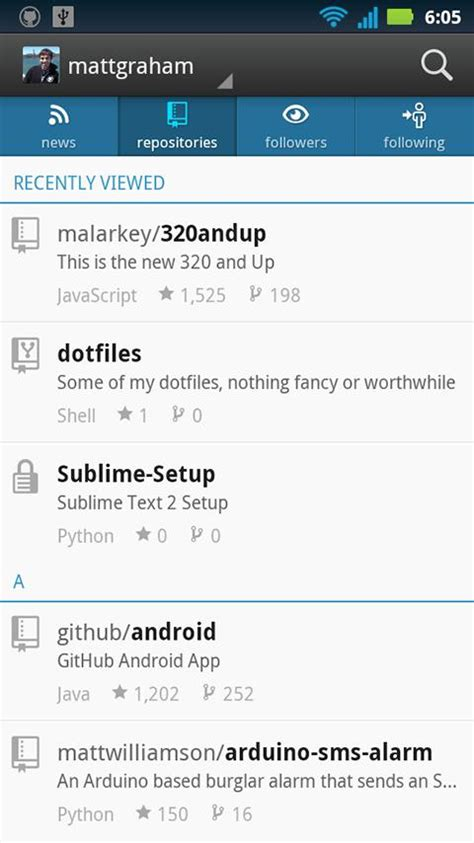 github android app github 187 apk thing android apps free