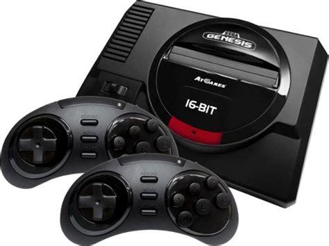 sega genesis console sega genesis flashback console black 857847003837 best buy