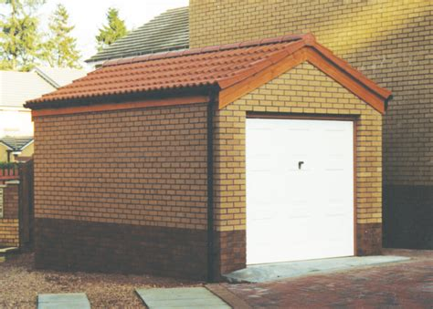 sectional garages scotland brick built garages scotland best brick 2017