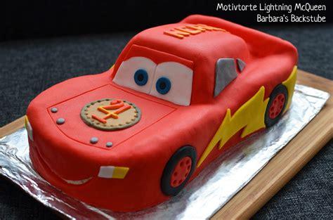 cars kuchen selber backen barbara s backstube lightning mcqueen torte