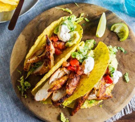 healthy fats for dinner lighter chicken tacos recipe food