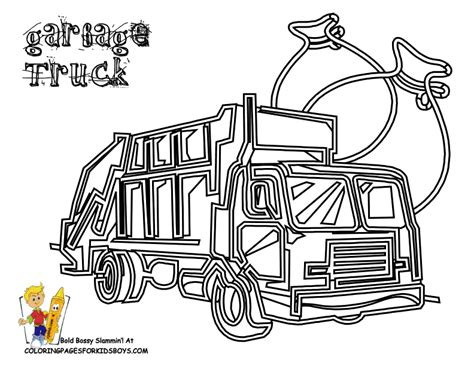 garbage trucks coloring page garbage truck coloring pages coloring home