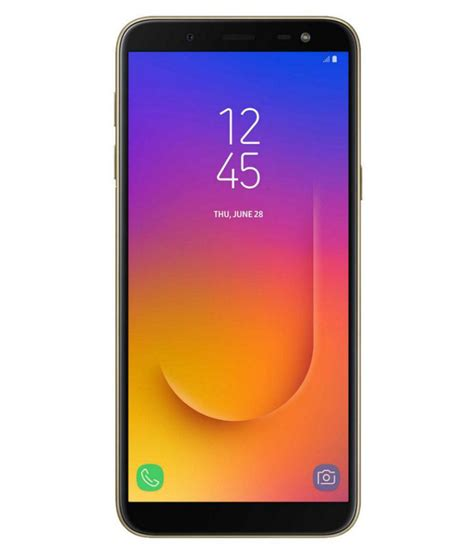 samsung galaxy j6 64gb 4gb ram samoled infinity display mobile phones at low prices