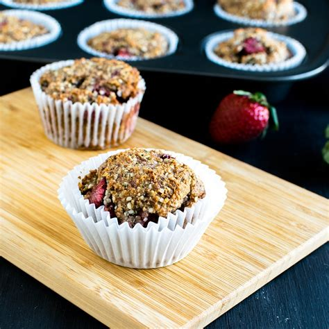 protein jam strawberry jam vegan protein muffins gf paleo
