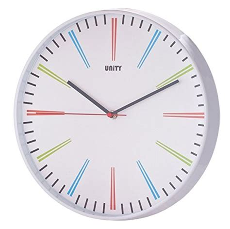 silent wall clock silent sweep non ticking modern wall clock so that s cool