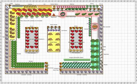 free vegetable garden layout free vegetable garden layout planning a garden layout