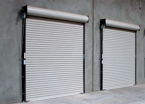 Coiling Overhead Door Rolling Steel Doors Rice Equipment Co Loading Dock Door Service