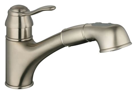 grohe nickel pull down faucet nickel grohe pull down faucet faucet com 32459en0 in brushed nickel by grohe