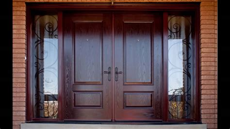 Home Front Doors Design Door Interesting Brown Theme Door Design With Beautiful Handmade Carving Door